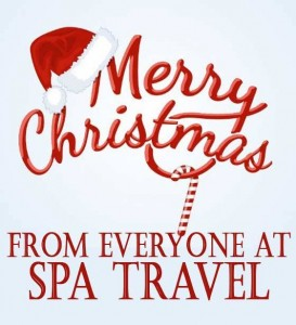 merry christmas from Spa travel
